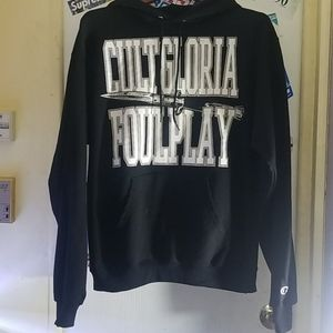 RARE Cult Gloria x Foulplay Switchblade hoodie